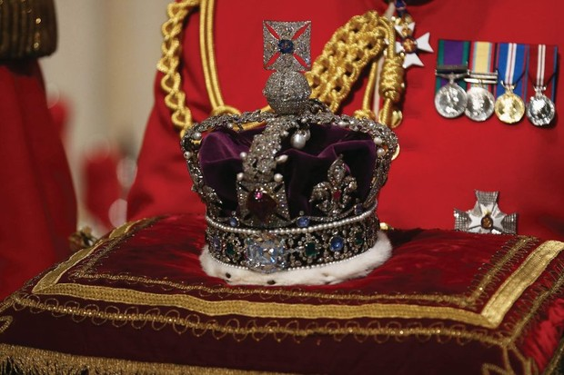 What are the Crown Jewels and what happened to them during the Second World War?