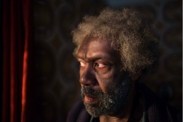 Sir Lenny Henry plays the older Cyrus in 'Soon Gone: A Windrush Chronicle', a character who reflects upon his life as riots take place outside his London house in 2011. (Image Credit: BBC/Douglas Road Productions/Carlton Dixon)