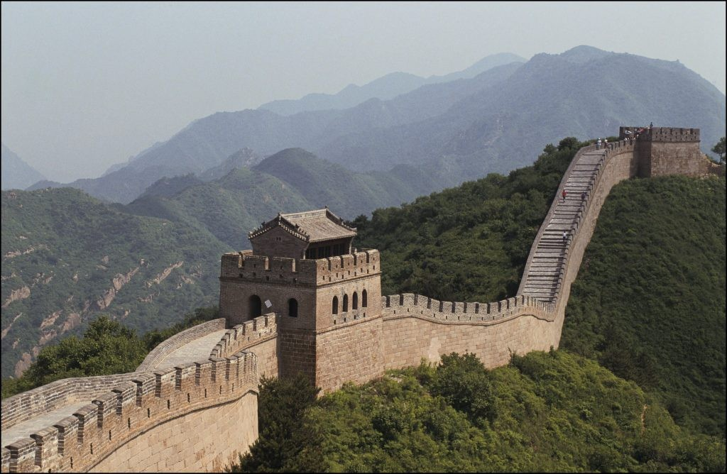 Towards the end of the third century BC, the First Emperor of China sought to make his new state immortal by shielding it with what would be the earliest predecessor to the Great Wall. (Photo by Jean-Luc PETIT/Gamma-Rapho via Getty Images)