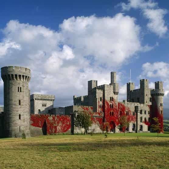 Penrhyn Castle, Gwynedd, Wales. (Photo by Getty Images)