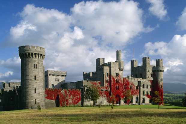 Penrhyn Castle, Gwynedd, Wales. (Photo by Getty Images)