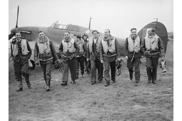 When most people think of Britain standing alone during WW2, do they have in mind the Battle of Britain? Britain's most successful squadron during the Battle of Britain was the Polish 303 Squadron, pictured. (Photo by S A Devon/ IWM via Getty Images)