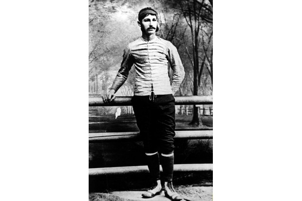 Walter Camp, pictured as an undergraduate at Yale. He is often considered to be the 'father of American football'. (Photo by ullstein bild/ullstein bild via Getty Images)