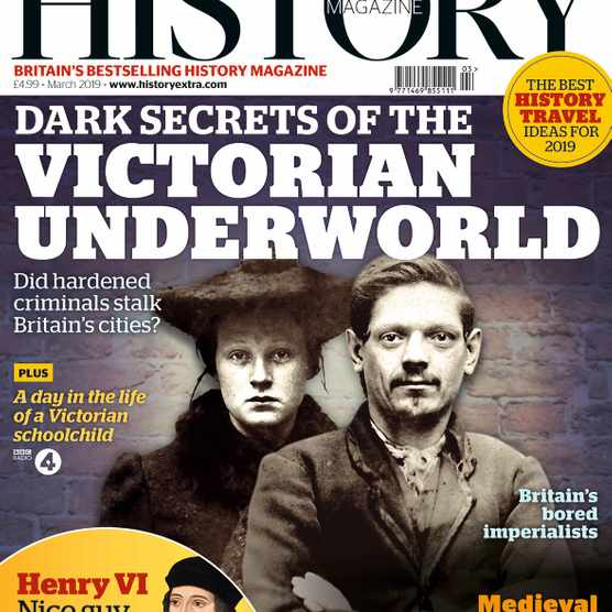 The March 2019 issue of BBC History Magazine.