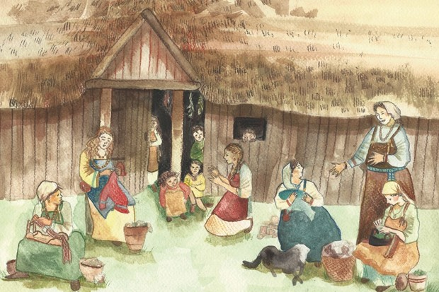 Viking women: at home and at war