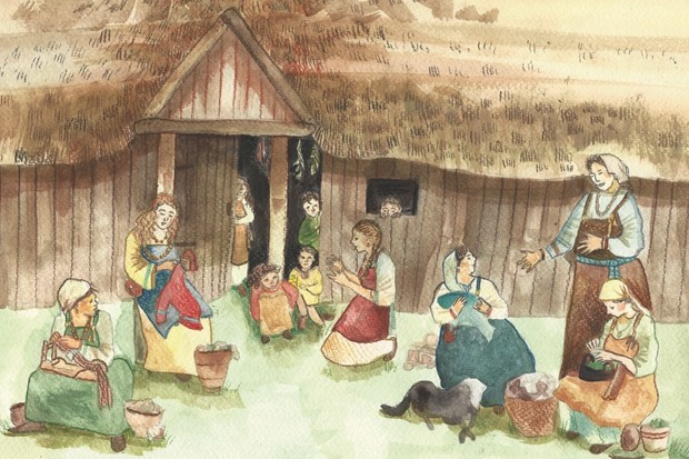 From matriarchs and artisans to traders and travellers, Judith Jesch explores the often rich and adventurous lives of women in the Viking age. (Illustrations by Laura Grace Haines)