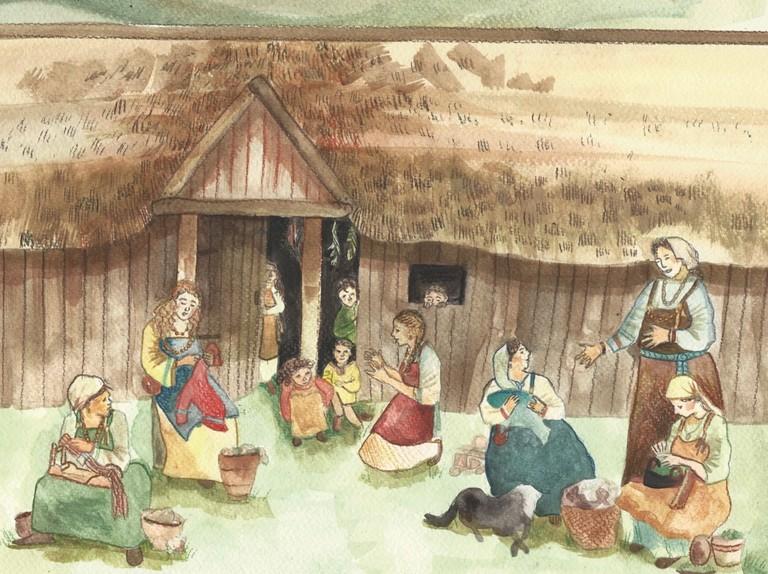Viking women: at home and at war