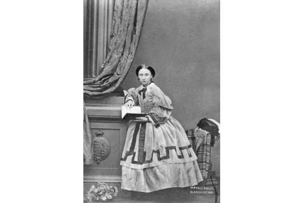 c1861: Princess Helena Augusta Victoria, later Princess Christian of Schleswig-Holstein. She was the fifth child of Queen Victoria. (Photo by John Jabez Edwin Mayall/Hulton Archive/Getty Images)