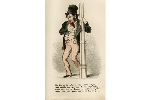 Vinegar Valentine's card, c1875. (Photo by Royal Pavilion & Museums, Brighton & HoveRoyal Pavilion & Museums, Brighton & Hove)