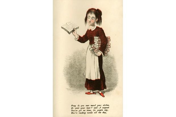 Vinegar Valentine's card, c1875. Vinegar Valentine's card, c1875. (Photo by Royal Pavilion & Museums, Brighton & HoveRoyal Pavilion & Museums, Brighton & Hove)