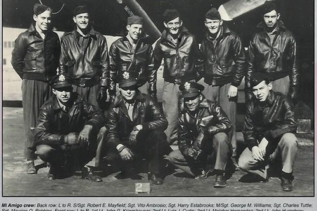 Mi Amigo: the deadly WW2 bomber crash in Sheffield play park that killed 10 airmen
