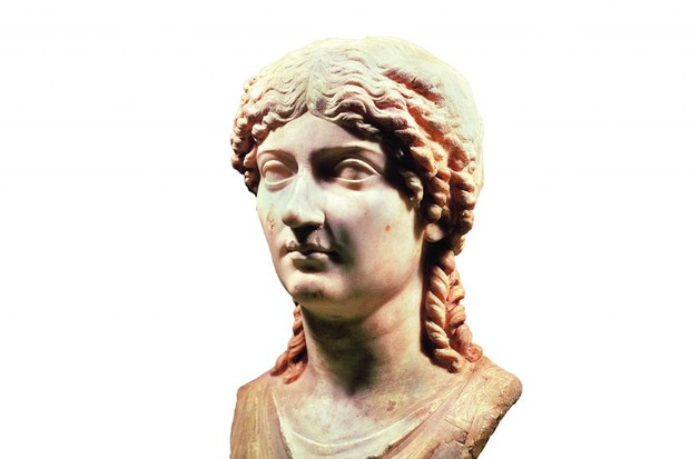 Marble bust of Agrippina the Younger