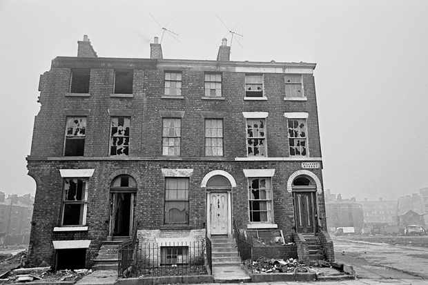 Falkner Street, Liverpool in the 1960s. A house on this road was the star of a 2018 BBC series. (Image by Nick Hedges)