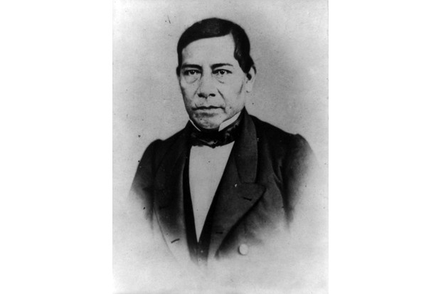 "Benito Juárez, president of Mexico (1861–72), who ""forged a cross-border bond of mutual interest and sympathy"" with American president Abraham Lincoln. (Photo by Universal History Archive/Getty Images)"