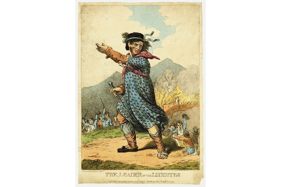 The leader of the Luddites, 1812. Found in the collection of British Museum. Anonymous artist. (Photo by Fine Art Images/Heritage Images/Getty Images)