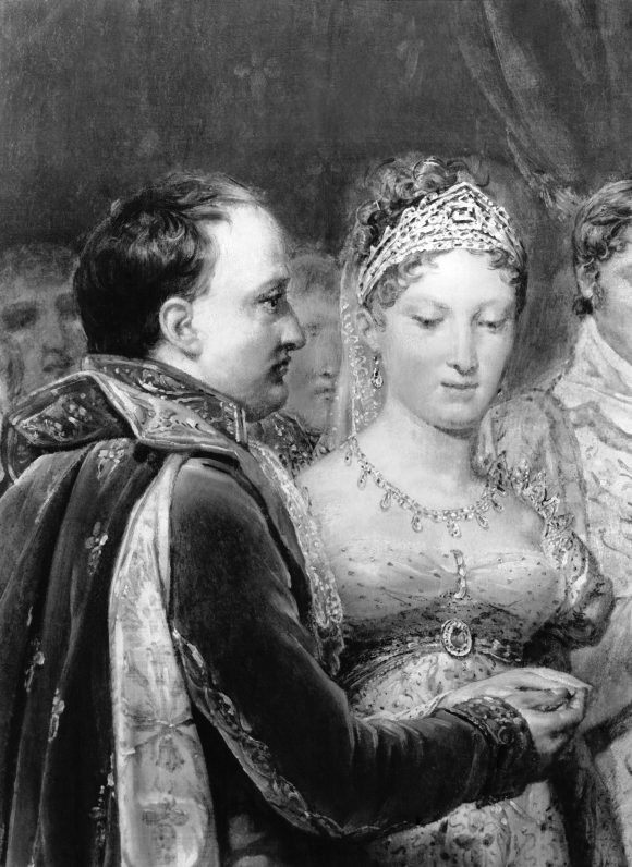 The marriage of Napoleon Bonaparte to Habsburg Archduchess Marie-Louise. (Photo by API/Gamma-Rapho via Getty Images)