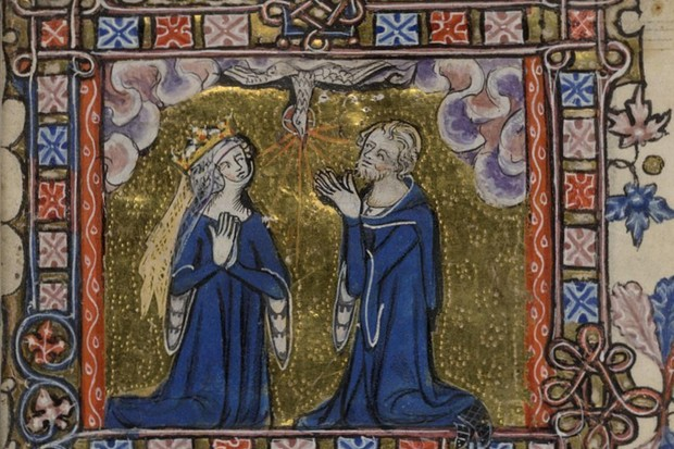A rocky relationship: Eleanor of Woodstock with her husband, Reginald II of Guelders. (Photo by Alamy)