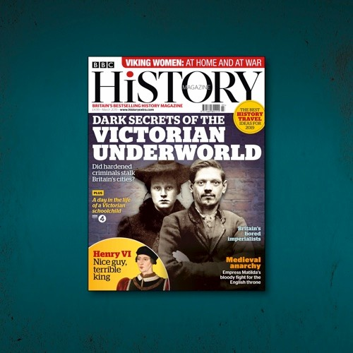 March 2019 issue of BBC History Magazine.