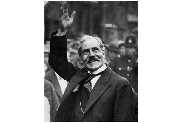 Ramsay MacDonald, the first British Labour prime minister, pictured after the general election of 1931
