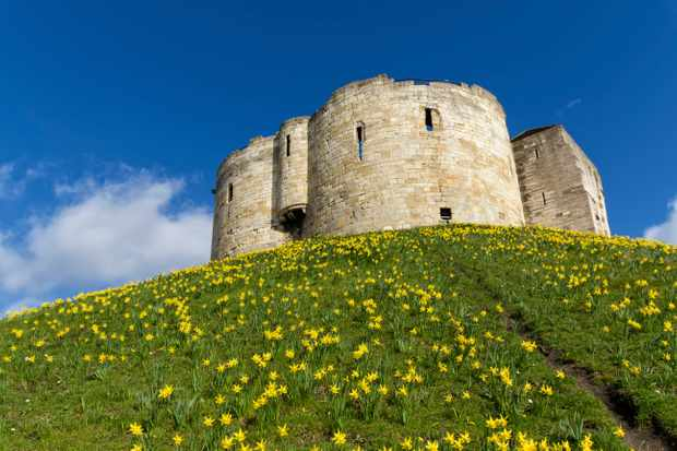 Clifford's Tower stands on the site where around 150 Jews took their own lives rather than renounce their faith, in 1190. (Photo by Dreamstime)