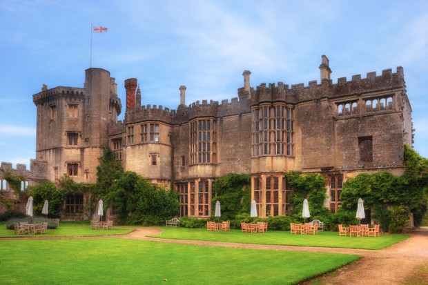 Thornbury Castle, where in August 1535 Henry VIII stayed for 10 days with his new queen, Anne Boleyn. (Photo by Joana Kruse/Alamy Stock Photo)
