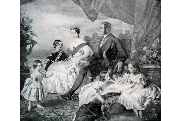 Queen Victoria with Prince Albert and their children in 1846. (Photo by Culture Club/Getty Images)