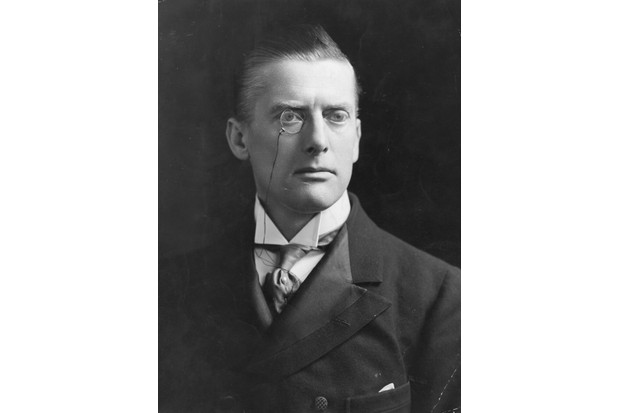 Austen Chamberlain, c1900. (Photo by Hulton Archive/Getty Images)