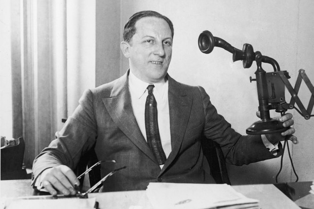 American professional gambler Arnold Rothstein. (Photo by Jack Benton/Getty Images)
