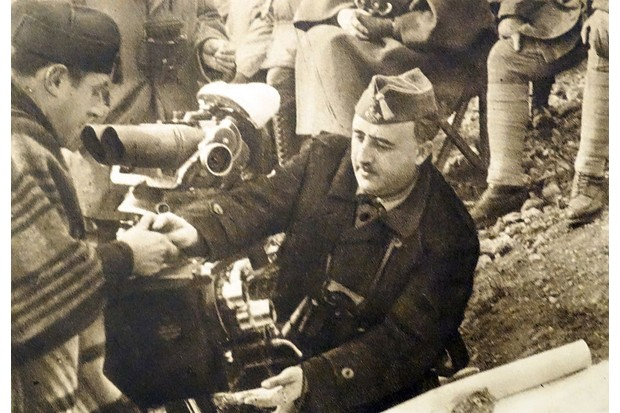 General Franco at the battle of the Ebro. (Photo by: Universal History Archive/Universal Images Group via Getty Images)