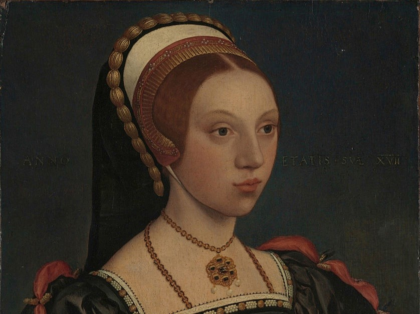 Portrait of a young woman believed to be Henry VIII's fifth wife, Catherine Howard. (Photo by Fine Art Images/Heritage Images/Getty Images)