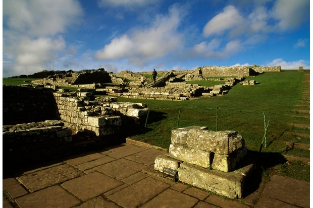 Housesteads Roman fort at Hadrian's Wall. (Photo by DeAgostini/Getty Images)
