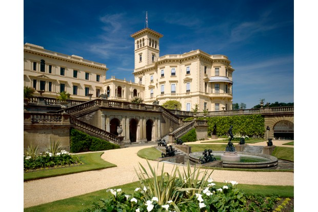 Osborne House on the Isle of Wight – Queen Victoria and Prince Albert's summer home and rural retreat. (Photo by English Heritage/Heritage Images/Getty Images)
