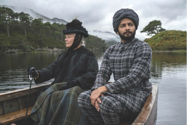 """Judi Dench plays the ageing Queen Victoria for the second time, alongside Ali Fazal as her """"Munshi"""", Abdul Karim. (Image by Alamy)"""