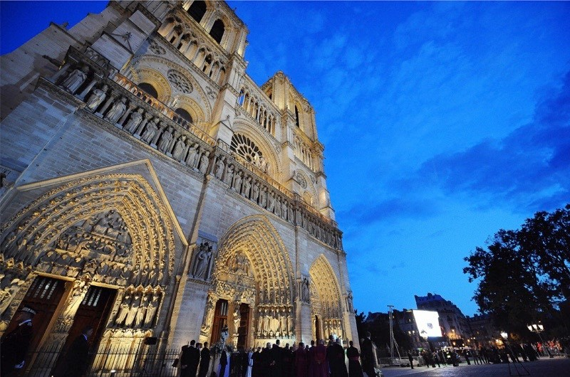 Notre-Dame cathedral, which dates back to 1163. (Alberto Pizzoli/AFP/Getty Images)