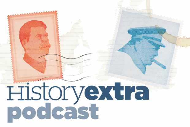 David Reynolds talks to the History Extra podcast. (Illustration by Hugh Cowling)