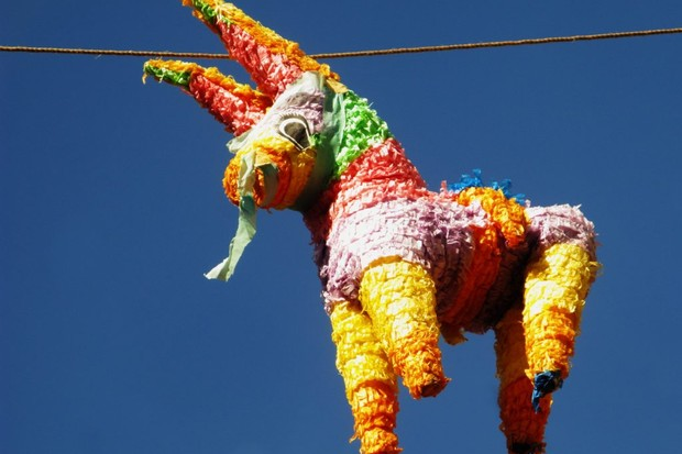 Photo of a piñata