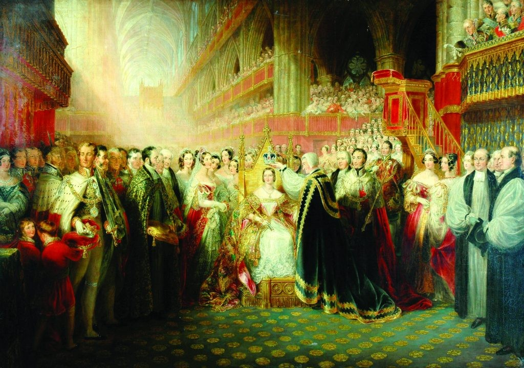 The coronation of Queen Victoria in June 1838. Despite the many challenges of her childhood, she emerged as a fresh start for the monarchy after the unpopular regime of her uncles, Kings George and William IV. (Image by Bridgeman)