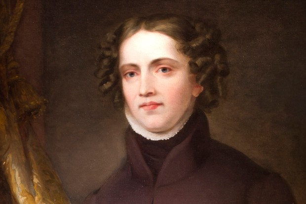 A portrait of Anne Lister