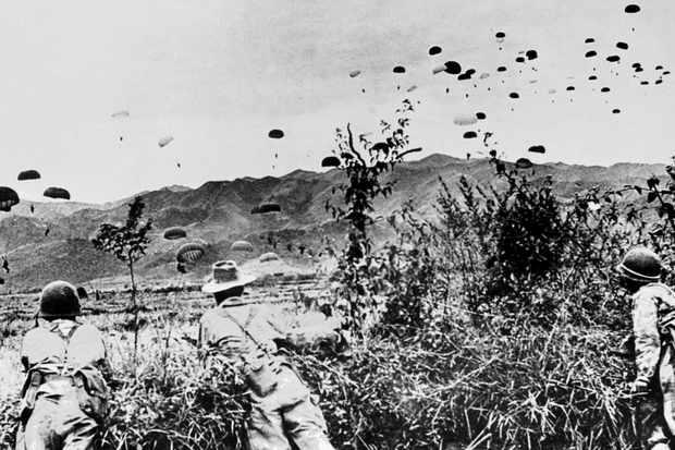Paratroopers over Dien Bien Phu