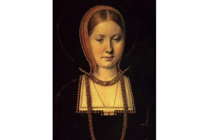 Henry VIII's first wife, Catherine of Aragon, c1502. (Photo by: Universal History Archive/UIG via Getty images)