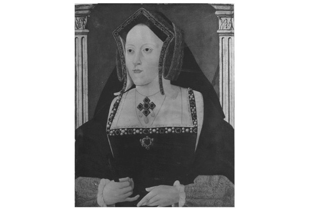 A portrait of Catherine of Aragon