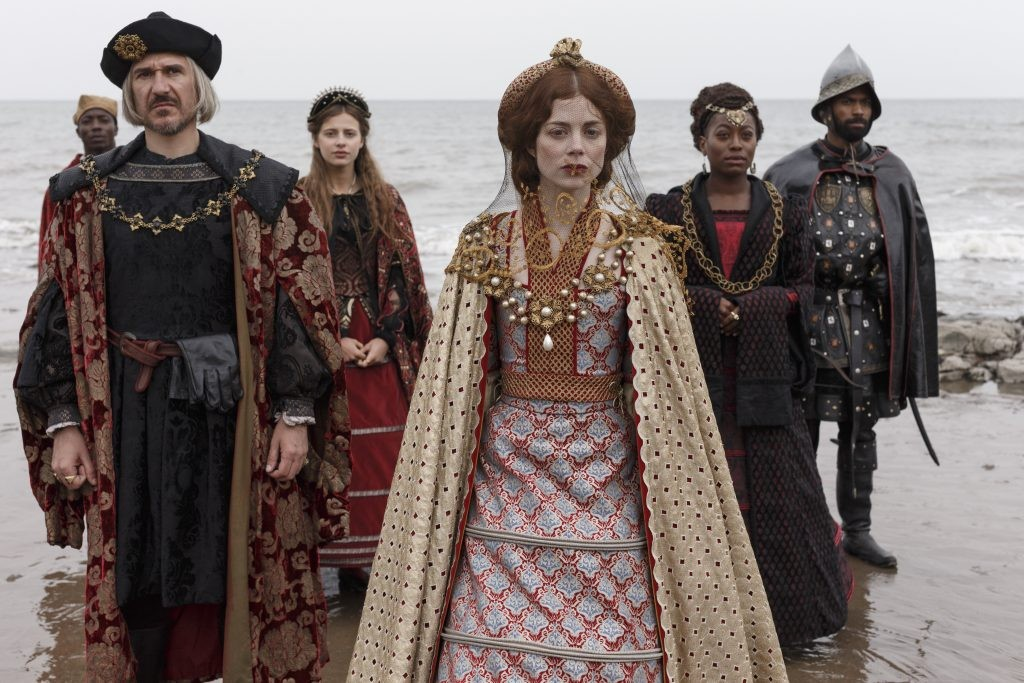 The Spanish Princess, starring Charlotte Hope as Catherine of Aragon, charts the story of the woman who married into the Tudor dynasty. (Image credit: Starz)