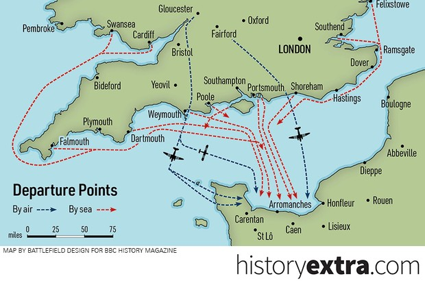 D-Day In Numbers: 4 Infographics That Show The Big Picture - History on