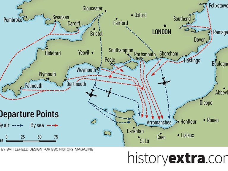 D-Day in numbers: 5 infographics that show the big picture
