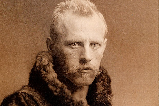 A portrait of Fridtjof Nansen, taken after his daring expedition across Greenland. (Image by Alamy)
