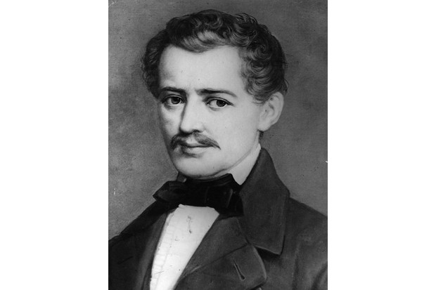 Austrian violinist and composer Johann Strauss. (Photo by Hulton Archive/Getty Images)