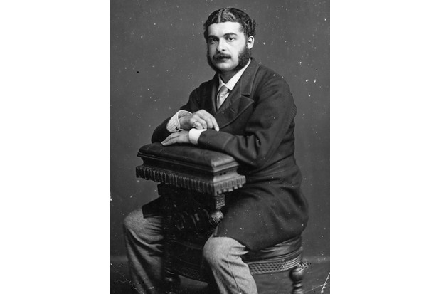 British composer Arthur Sullivan, who achieved noteriety during his partnership with William Gilbert. (Photo by London Stereoscopic Company/Getty Images)