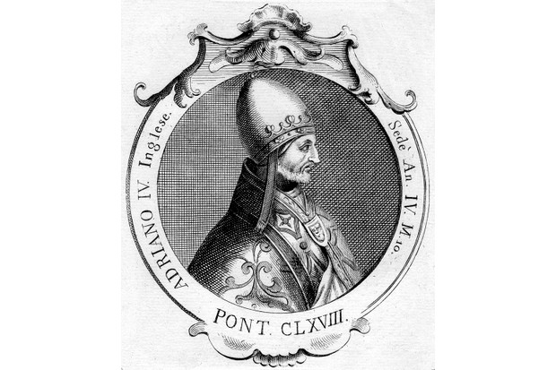 Pope Adrian IV, born Nicholas Breakspear, is the only Englishman to have been pope. (Photo by The Print Collector/Print Collector/Getty Images)
