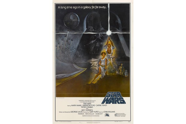 Star Wars poster, 1977