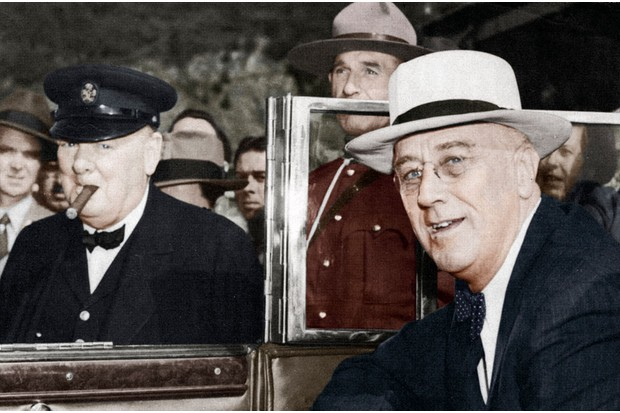 The decision of who would command Operation Overlord was really Roosevelt's, for America would be supplying the lion's share of the resources. (Photo by Print Collector/Getty Images)